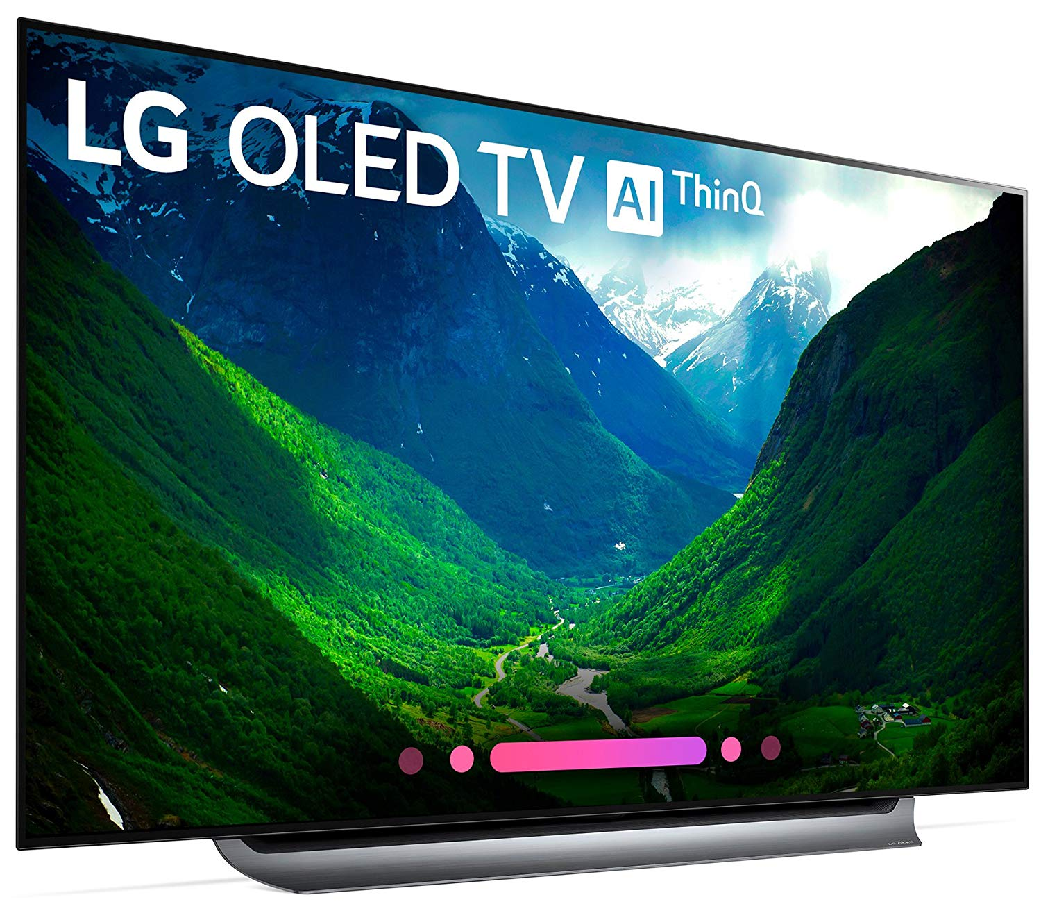 Roll over image to zoom in  Product Energy Guide LG Electronics OLED65C8PUA 65-Inch 4K Ultra HD Smart OLED TV (2018 Model)